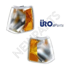 For Volvo 760 940 Pair Set of Front Right+Front Left Turn Signal Assemblies Uro