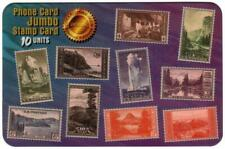 Stamps Reproductions: National Parks JUMBO Issue Only Phone Card