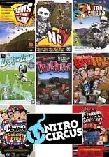 TRAVIS AND THE NITRO CIRCUS - THE COMPLETE 8 DVD BUNDLE - FMX/MX DVD