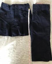 Girls Size 6 Uniform Bottoms, Skirt, Capri Pant #701