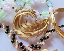 9 Of My Best Most Beautiful Trifari Lovers Only Lot Pin Brooch Earrings Necklace