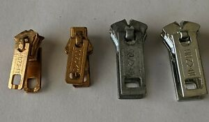 Lot of 4 Vintage Conmar Zipper USA (a-10/bb)