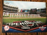 New York Yankees 2018 Topps Opening Day Opening Day at the Ballpark Insert