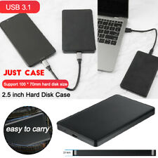 HDD Case 2.5inch SATA to USB 3.1 for Hard Drive Enclosure SSD Disk Box Type-C