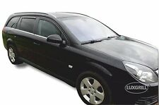 DOP25361 VAUXHALL VECTRA C 2004-2008 ESTATE WIND DEFLECTORS 4pcs set HEKO TINTED