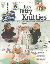 "Annie/'s Attic Pattern Book CROCHET COUSINS 33/"" Boy /& Girl Dolls /& Clothes 87C41"