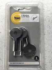 Yale Window Lock Keys ( Pack Of 3 )