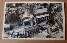 Postcard Carlisle Cathedral Cumbria From The Air Real Photo unposted