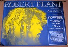 LED ZEPPELIN BOB PLANT CONCERT POSTER THUR 7th JUNE 1990 BIRMINGHAM NEC ARENA UK