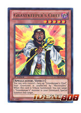 YUGIOH x 3 Gravekeeper's Chief - LCYW-EN187 - Ultra Rare - 1st Edition Mint