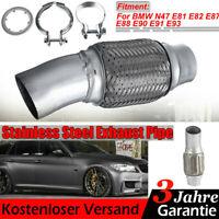 Flexrohr hosenrohr Dieselpartikelfilter DPF für BMW E81 E82 E87 E88 E90 -E93 N47