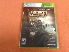 Fallout 3 Game of Year XBOX 360 Game FREE SHIP Complete Factory SEALED!
