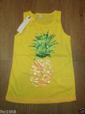 T-shirts, hauts et chemises débardeurs pour fille de 2 à 16 ans en 100% coton