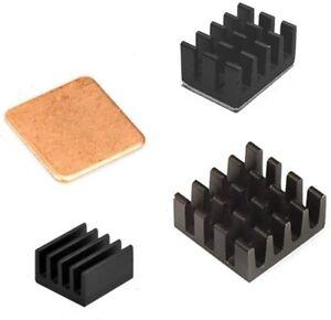 Raspberry Pi Kühlkörper-set Aluminium+Copper+3M Tape for 4