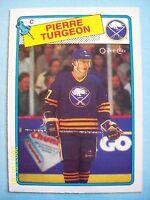 1988-89 O-Pee-Chee # 194 Pierre Turgeon Vintage Rookie Card!  N/MT or Better!