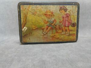 Vintage french advertising TIN BOX