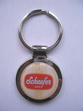 Schaefer Beer Key Chain, Schaefer Beer Logo Keychain, Schaefer  Beer Key Chain
