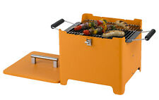 Tepro 1144 Chill&Grill Holzkohlengrill Cube orange