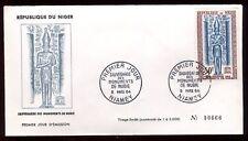 Niger - Enveloppe FDC 1964 -Monuments de Nubie - O 285