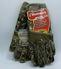 Huntworth L/XL Midweight Hunting Gloves Waterproof Touch Screen Compatible New