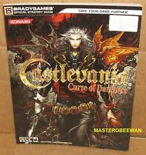 Castlevania Curse of Darkness Official Strategy Guide Book PlayStation 2 PS2 New
