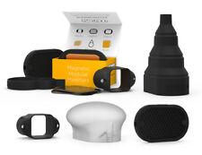 Kit de control magmod. completa Flash modificador Set con geles, Cuadrícula, snoot, magsphere