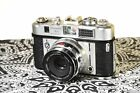 King Regula iiid Automatic 35mm rangefinder camera with 50mm f/2.8 lens