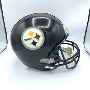 PITTSBURGH STEELERS RIDDELL NFL FULL SIZE REPLICA FOOTBALL HELMET