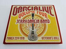 Jerry Garcia Band Live GarciaLive Volume Four 4 CD Sebastopol CA 3/22/1978 JGB