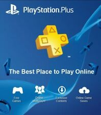 sony PLAYSTATION PLUS  PS3-PS4-PS5 online 30 giorni-1 month/30 giorni-1 mese PS+