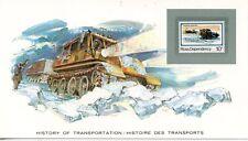 HISTORY OF TRANSPORTATION / HISTOIRE DES TRANSPORTS / LES VEHICULES A CHENILLES