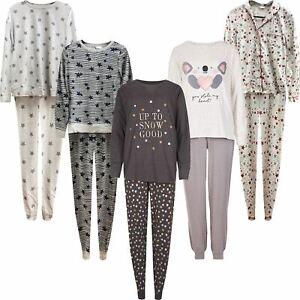 Ladies M&S Marks Spencer Pyjamas Long Sleeve Trousers PJ Nightwear Loungewear