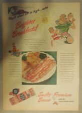 Swift and Company Ad: Swift's Premium Bacon from 1940's Size: 11 x 15 inches