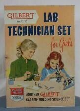 Gilbert No. 13120 Lab Technician Set For Girls