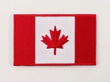 Canada Flag Patch Embroidered Sew On Applique Canadian