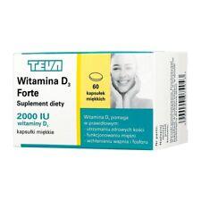 Teva  Vitamin D3 Forte 2000 60 capsules Molekin