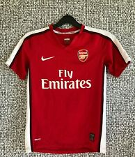 Arsenal FC Gunners 2008 Nike Football Shirt Soccer Jersey Youth Size M