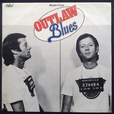 Promo! Charles Bernstein Hoyt Axton OUTLAW BLUES soundtrack LP 1977 Peter Fonda