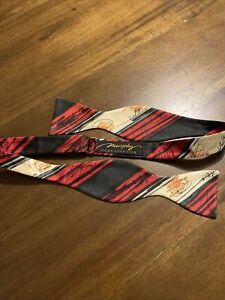 Murphy Genesis Bow Tie Hand Dyed Silk Abstract Bowtie