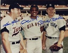 Mickey Mantle Mays Killebrew Signed Autograph reprint 8x10