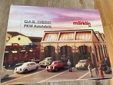 Marklin das werk PKW mercedes fabrik. 40 brand new marklin mercedes cars brand n