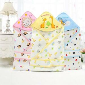 Newborn Baby Receiving Blanket W/ belt