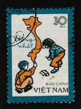 30xu, VIETNAM 'Unification of Vietnam' Series Stamp, issued 1977 - Used / Fine