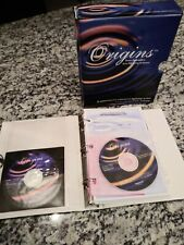 Rare Origins Home Embroidery Auto-Digitizing Software Cds version 9.0 No Dongle