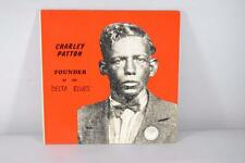 Charley Patton Founder Of The Delta Blues Two Vinyl Record Albums NM