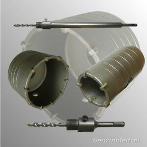 1x Bohrkrone 30-150mm für Stein optional mit SDS Plus oder SDS Max Aufnahme TOP