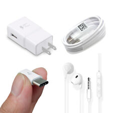4 Wall Charger Cable Earphone Converter For Samsung S10e S10 Plus S8 S9+Note 9 8