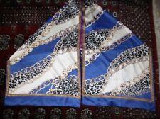 Animal Print 100% Silk Stole Scarves & Wraps for Women