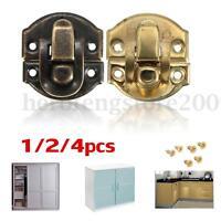 1/2/4x Case Latch Catch Lock Suitcase Jewelry Box Chest Trunk Clasp Clip Hasp