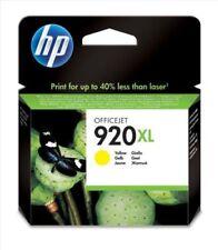 Cartuchos de tinta amarilla HP de inyección de tinta para impresora